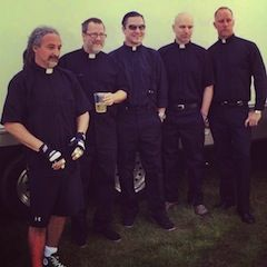 Listen to New Faith No More Song 'Cone Of Shame', FNM debut new song Cone of Shame at Tokyo gig. Track will be featured on band's new album Sol Invictus.