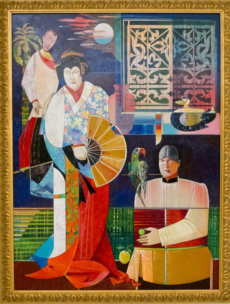 BANGKOK. Museum of Contemporary Art MOCA thai thailand