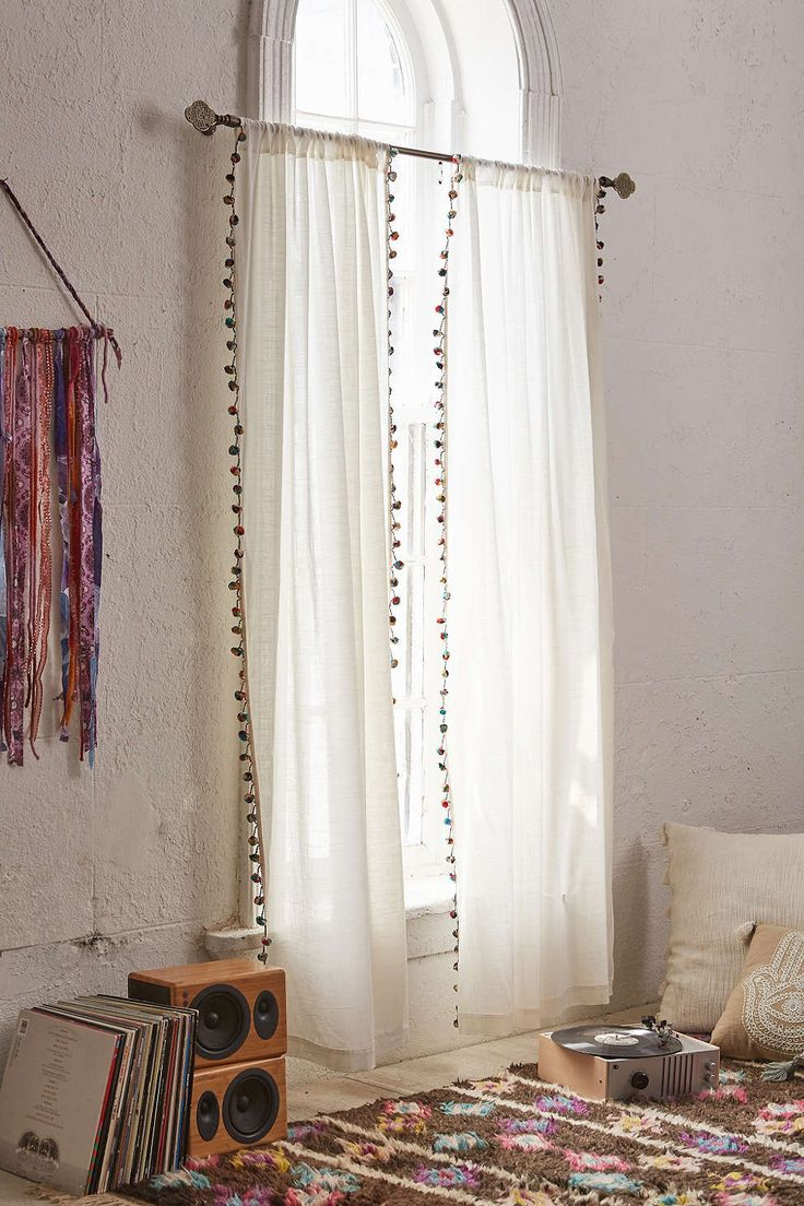 Pom-Pom Curtains by Magical Thinking www.urbanoutfitters.com