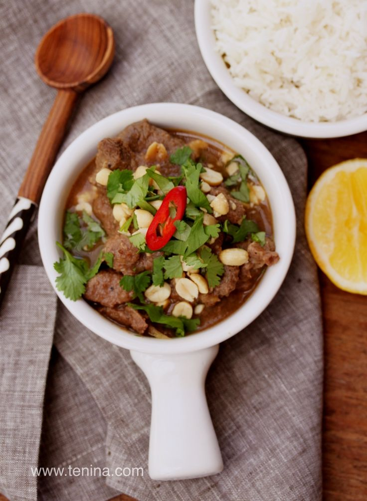 Spicy Thai Beef Curry - Cooking with Tenina