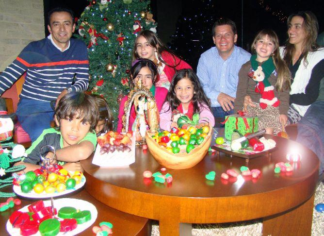 Decoración novena navideña