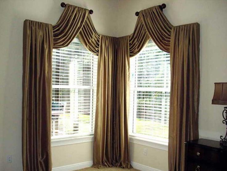 Valances for living room with bay windows design classic sofa