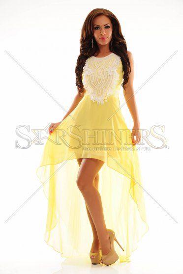 Luxuriant World Yellow Dress
