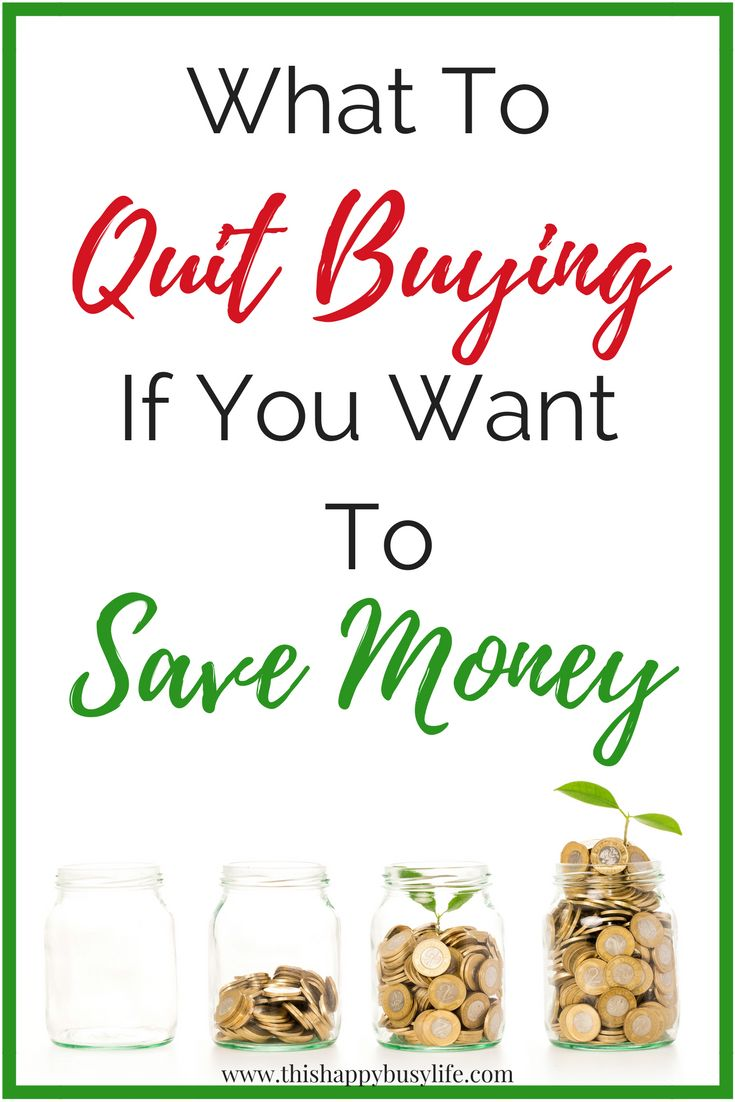 Trying to start budgeting? Here are 10 tips on things to stop buying which will save you money. #savingmoney #budgeting #frugalliving #frugallivingtips
