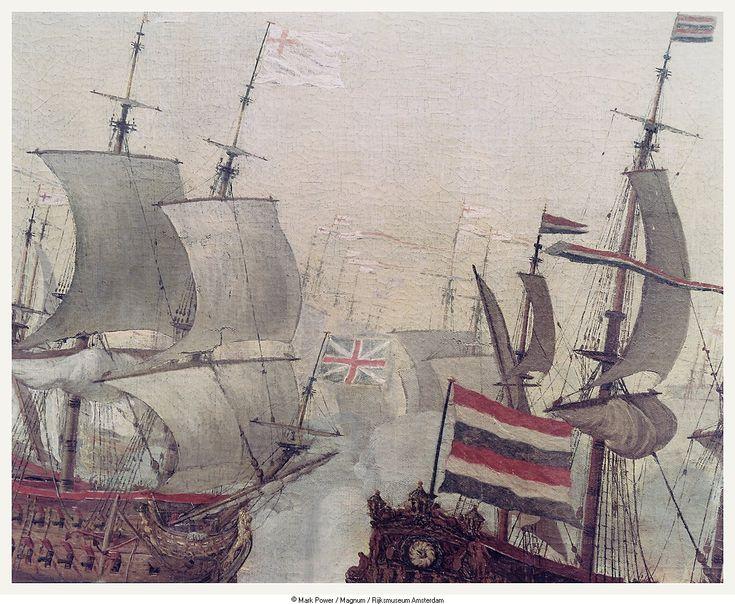 Willem van de Velde de Oude - De vierdaagse zeeslag, episode in de Tweede Engelse Zeeoorlog - juni 1666