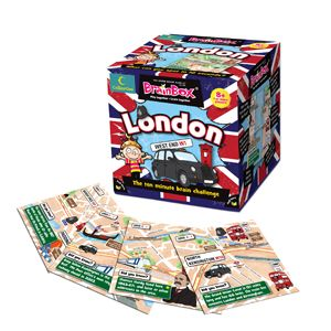 Did you know that Marble Arch was moved from outside Buckingham Palace in 1851? And that Big Ben is the largest four-faced chiming clock in the world? BrainBox London is crammed full of interesting facts and figures about the UK's capital city. An added bonus is that the cards can be linked