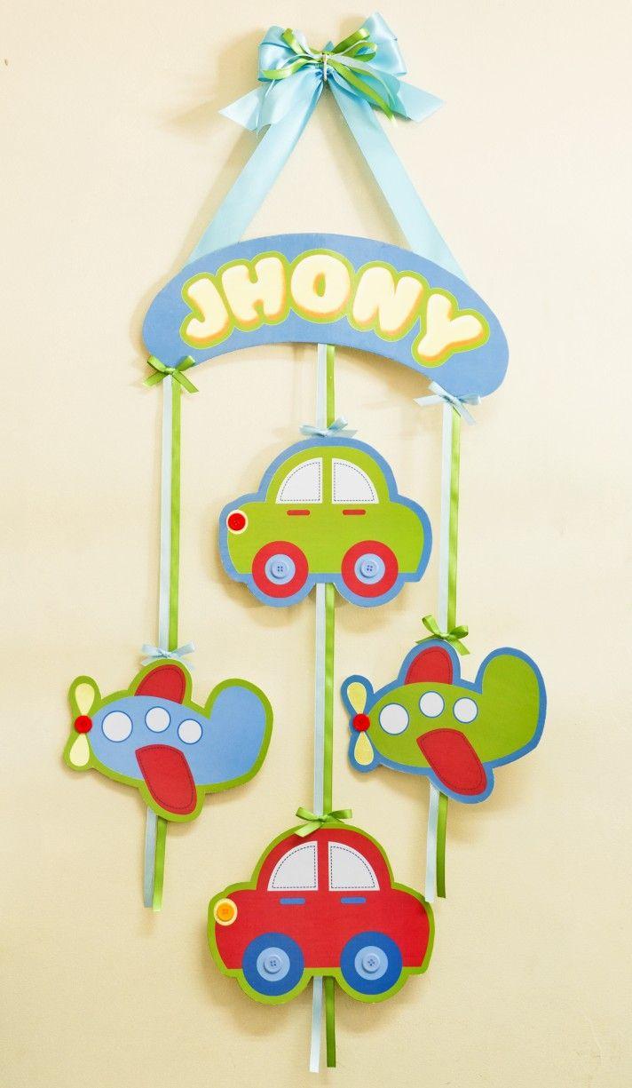 Adornos para Puertas – Nacimiento de Jhony