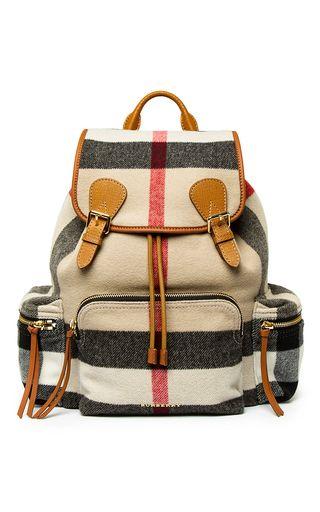Rucksack In Prorsum Check by BURBERRY for Preorder on Moda Operandi