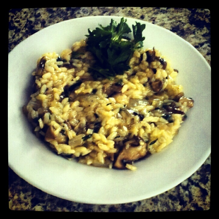 Homemade Mushroom Risotto: Dinner, Tummy Food, Entrees Main Dishes Soups, Side Dishes, Yummy Food, Homemade Mushroom, Veggie, Mushroom Risotto, Mushrooms