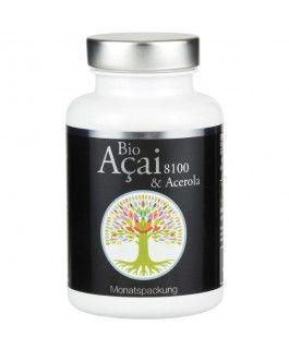 ACAI 8100 & Acerola  Premium BIO Acai und Bio Acerola www.feelgood-shop.com