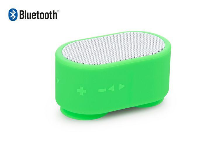 En Compranet Parlante Altavoz Bluetooth Aqua Soul Elaborado en ABS - Verde Limon CPN-05710-05 Visitanos en www.compranet.com.co