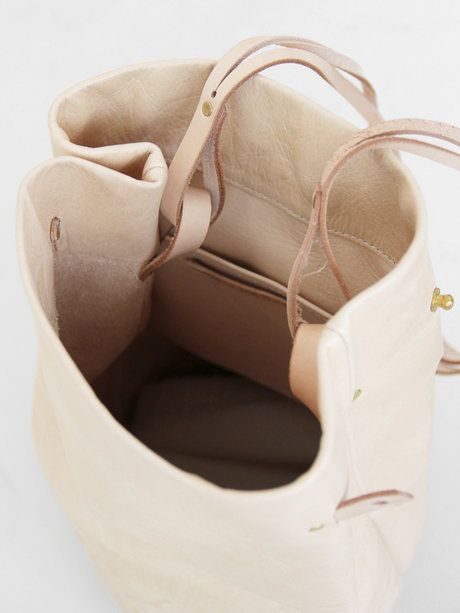 All Hands Time Spirit Bucket Bag - Vegetable Tan « Pour Porter