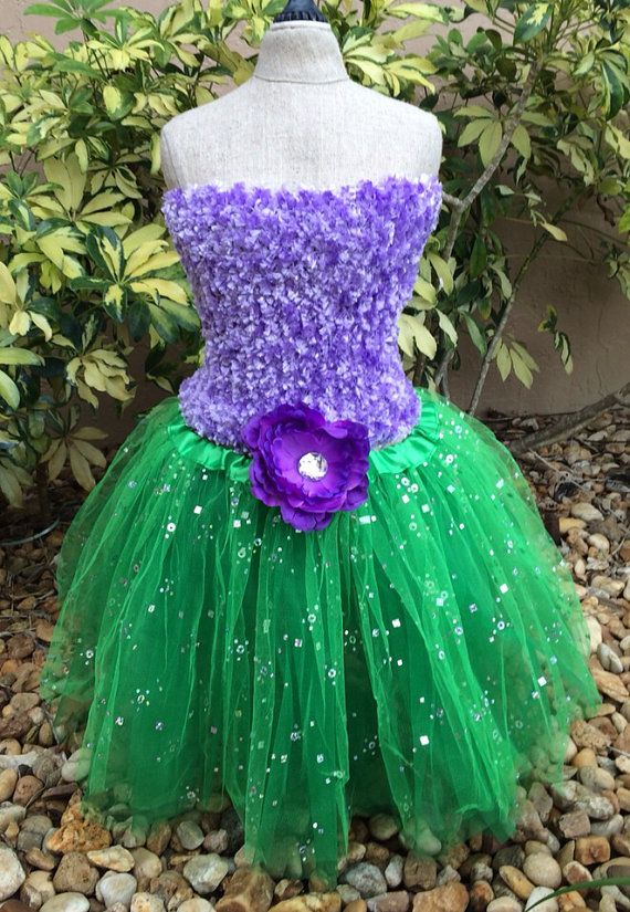 Little Mermaid Tutu Little Mermaid Tutu Dress by partiesandfun, $20.00
