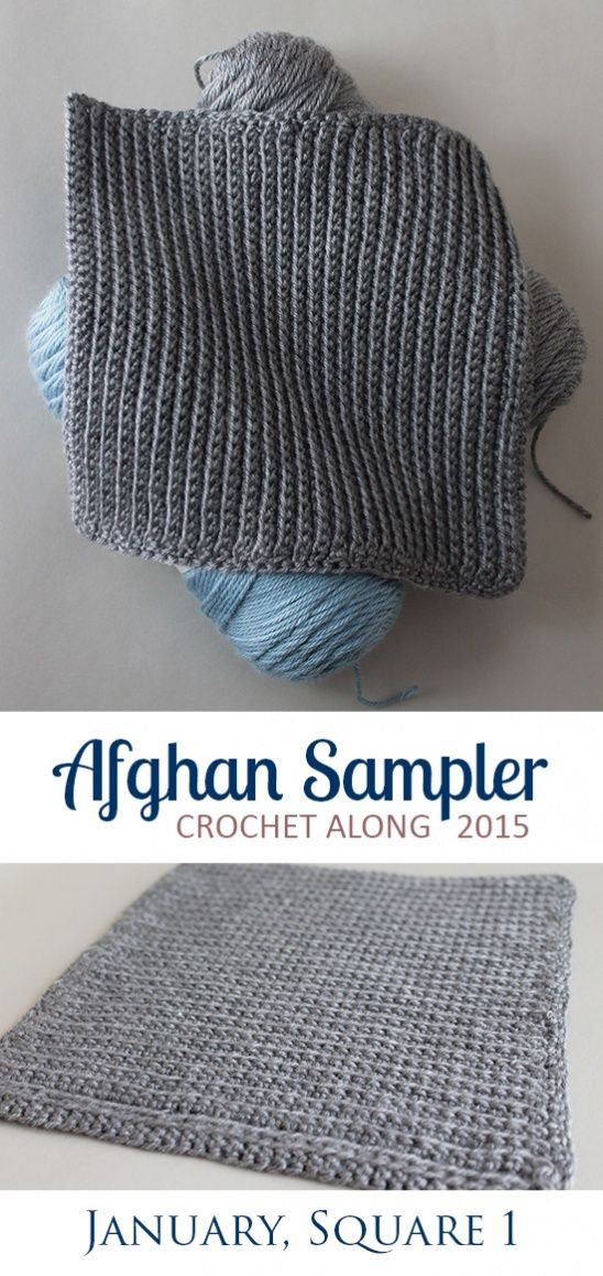 Afghan Sampler Square 1, January by TheInspiredWren | Project | Crochet / Decorative | Blankets & Afghans | Kollabora