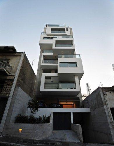 Arquitetura - Esse design em forma de cubos ficou muito interessante e moderno!