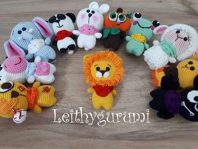 Leithygurumi: Leithygurumi - Çetenin son üyesi Aslancık Türkçe ve İngilizce Tarifi - Cute Little Leon Amigurumi English and Turkish Pattern