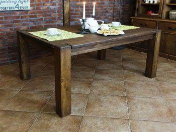 Stůl borovicový voskovaný Rustyk 1