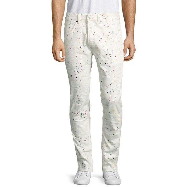 Publish Kristian Bottoms Pants ($60) ❤ liked on Polyvore featuring men's fashion, men's clothing, men's pants, men's casual pants, men's five pocket pants, mens zip off pants, men's 5 pocket pants, mens white pants and mens zipper pants