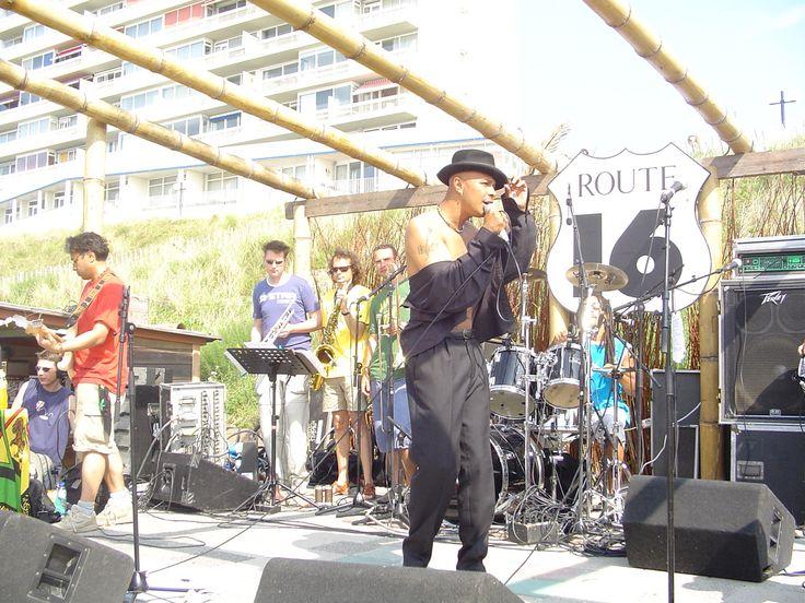 "#Zappostar# #Reggae# Performing With The #Reggaeband# ""Poorman Friend""Zandvoort (01-08-2004) (P.M.F. Concert)  #Reggaemusic# #Fotografie#"