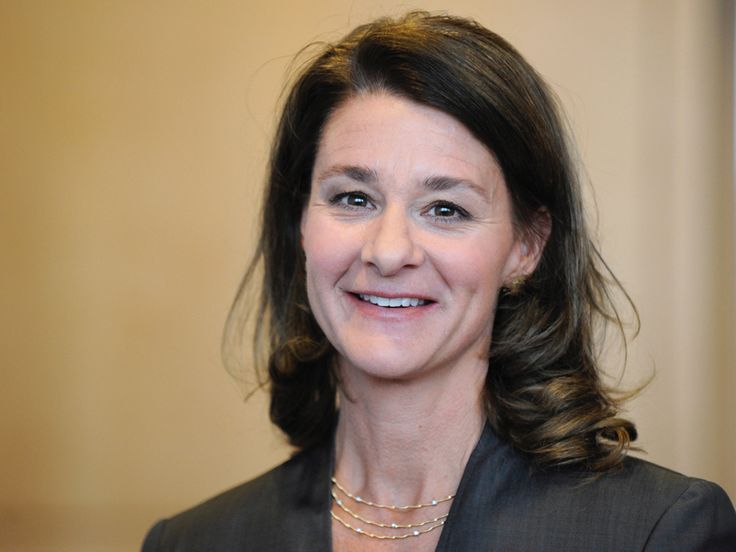 Melinda Gates wearing Marco Bicego Marrakech Mini Gold and Diamond Three Strand Necklace. http://bit.ly/1nmq34c