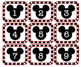 Live, Laugh, and Love to Learn...adorable Mickey Mouse Calendar cards. Must have....and they are free!