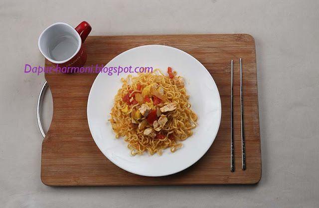 Dapur Harmoni: Tips dan Resep Membuat Mie Goreng  Vegetarian Tanp...