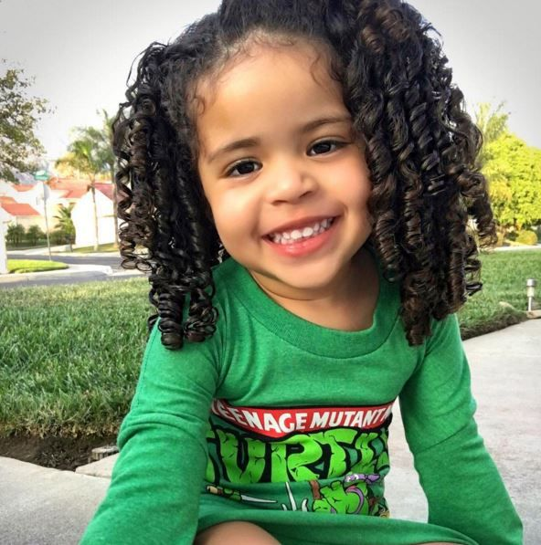 Peachy 1000 Ideas About Mixed Kids Hairstyles On Pinterest Biracial Hairstyles For Men Maxibearus
