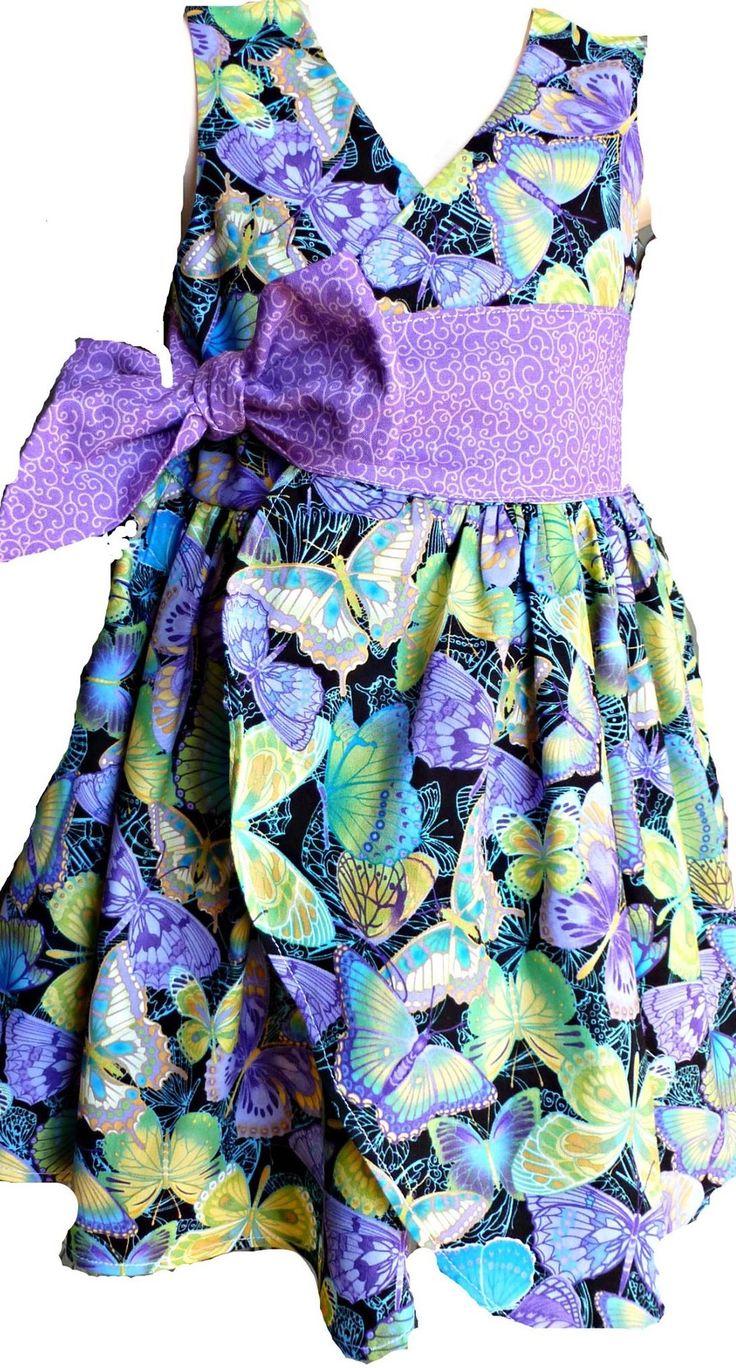 Girls wrap around dress $36 up to a size 8.