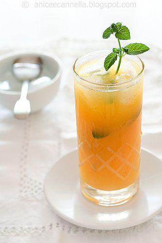 Home made fruit juice - recipe in italian