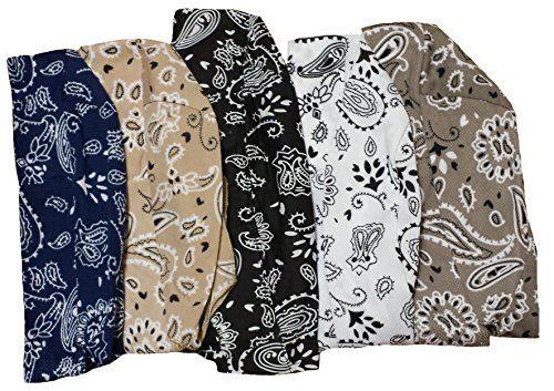 Assorted Biker Skull Cap Set Doo Rags with SWEATBANDS Black White Gray Blue Tan Buy Caps and Hats http://www.amazon.com/dp/B00B83EPEA/ref=cm_sw_r_pi_dp_Ptmtwb1GE46P1