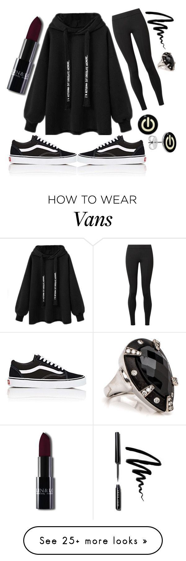 """""""Chillin'"""" by fashion-freak-julia on Polyvore featuring The Row, Vans and Bobbi Brown Cosmetics"""