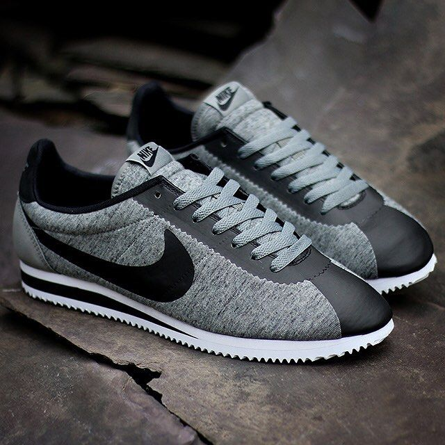 Check out the Nike Cortez in the Tech Fleece collection on SneakerNews
