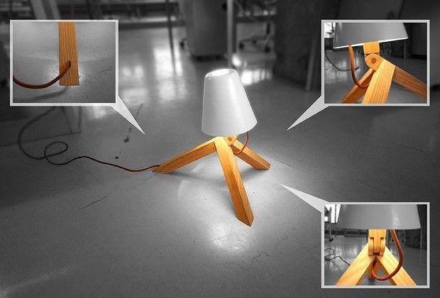 Møt Spiff Spiff er muligens den første lampen med egen personlighet. Inspirert av gamle treleker, har designduoen Gridy skapt lampen som minner om en hengiven og leken hund. Understellet er i ask, skjermen i aluminium og kan beveges i flere retninger.  Gridy består av Lars Olav Dybdal og Wilhelm Grieg Teisner