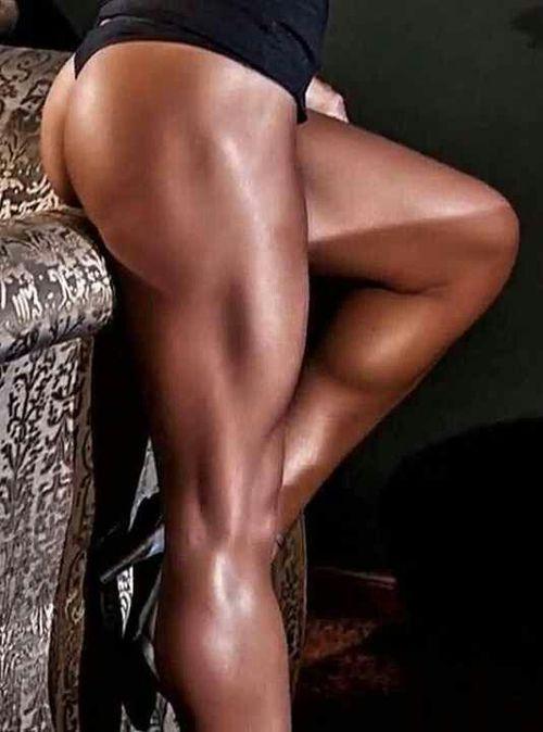 The leg…