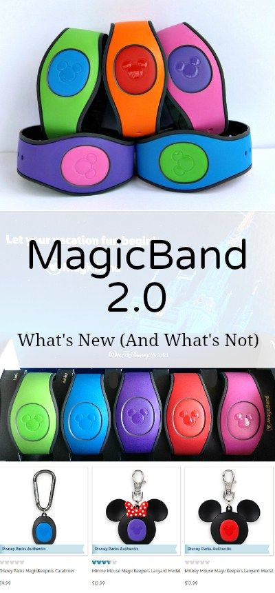Everything you need to know about the new MagicBand 2.0 at Walt Disney World! What's new and what's not with the next generation Magic Band.