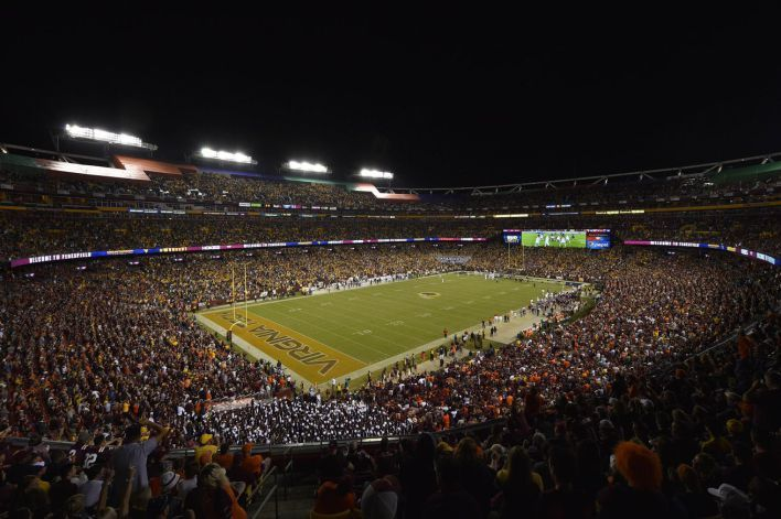 Virginia Tech vs. West Virginia was so good it overcame FedEx Field itself