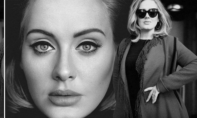 Adele's '25' album sales total 7.13m in US after selling 1.15m last week | Daily Mail Online