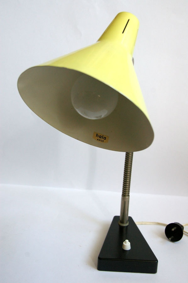 Dutch Design Hala Zeist desk lamp, 1950's