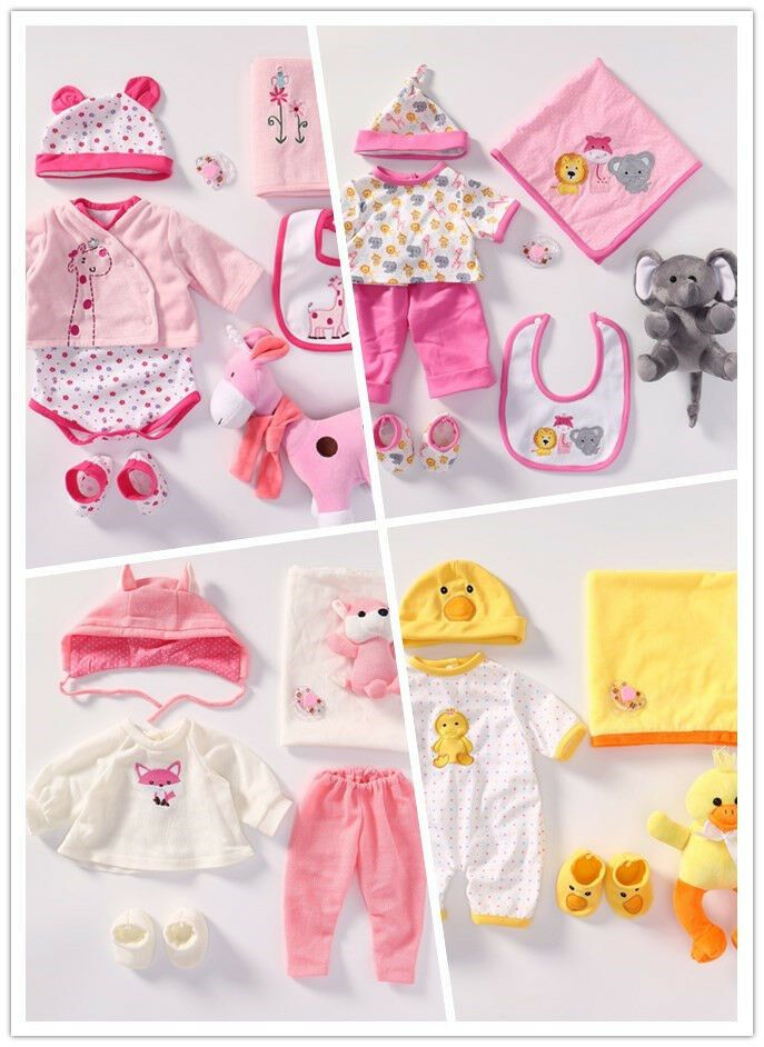 Ebay Sponsored Accessories For 20 22 Reborn Baby Girl Doll Clothes Sets Extra Plush Gift Reborn Baby Girl Baby Girl Dolls Girl Doll Clothes