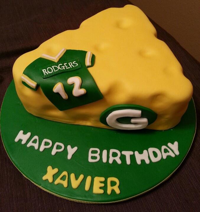 cheese head cake, biggest greenbay packer fan, greenbay packer cake