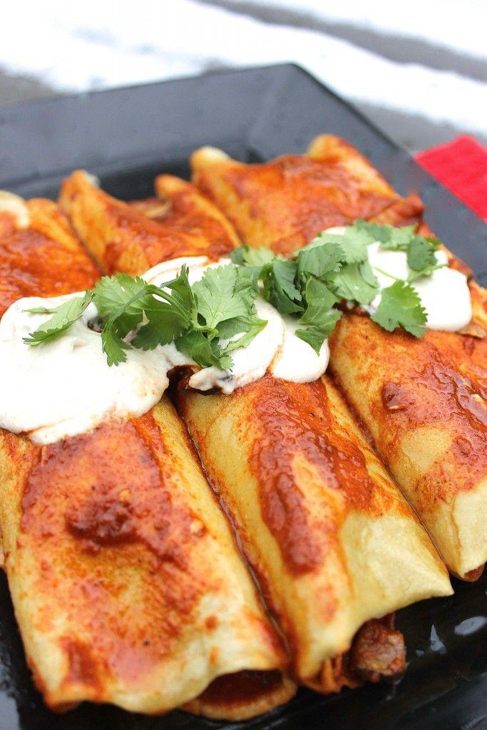 Paleo Chicken Enchiladas - Predominantly Paleo