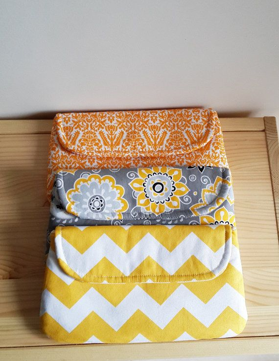 3 SET Orange Yellow Grey Bridesmaids Clutch Handmade Women Purse Bridal Pouch Bridesmaids Gift Weddings Dinner Clutch Party Clutch on Etsy, $65.00