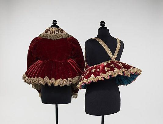 20-11-11 Jacket Date: 1840–80 Culture: Russian Medium: silk, metal, linen Dimensions: ...