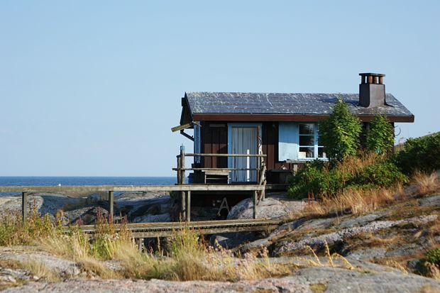 Moomin-writer Tove Jansson's cabin in the Porvoo archipelago