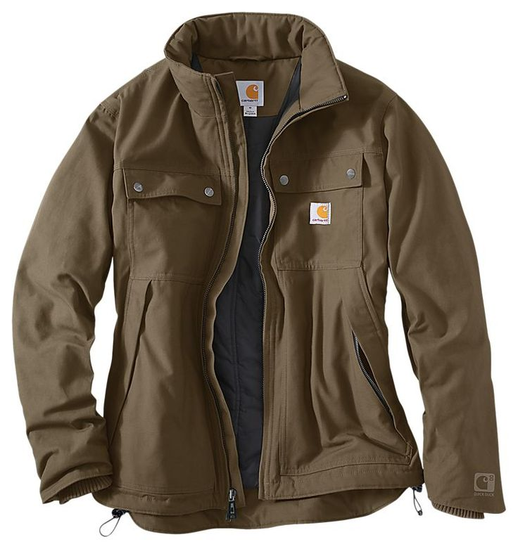 Carhartt Quick Duck Jefferson Traditional Jacket for Men | Bass Pro Shops: The Best Hunting, Fishing, Camping & Outdoor Gear