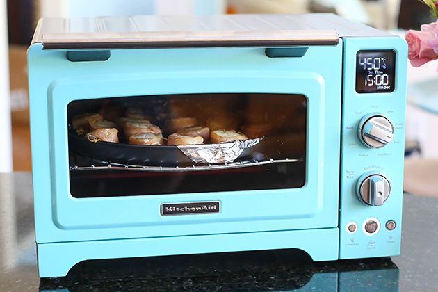 Entertaining in the summertime is easier with the KitchenAid® Convection Digital Countertop Oven. @lifelovesugar uses hers to make these delicious Bacon-Wrapped Scallops so she doesn't need to heat up a full-sized oven!  Learn how to make this recipe on our blog.