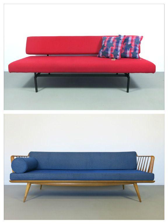 vintage jaren 50 en 60 wat een verschillende stijlen