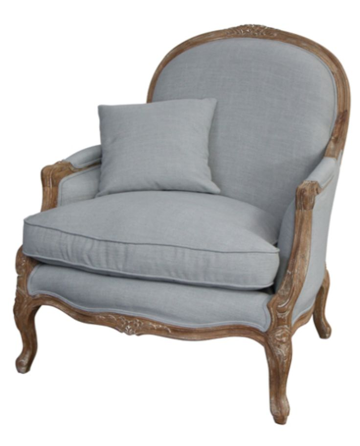 Elenor salon chair duck egg occasional chairs