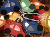 Lichterketten - Lichterkette Sterne - ein Designerstück von Wunschlicht bei DaWanda