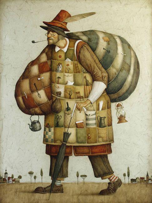 lillyartcollection:    Vladimir Gvozdariki  Source